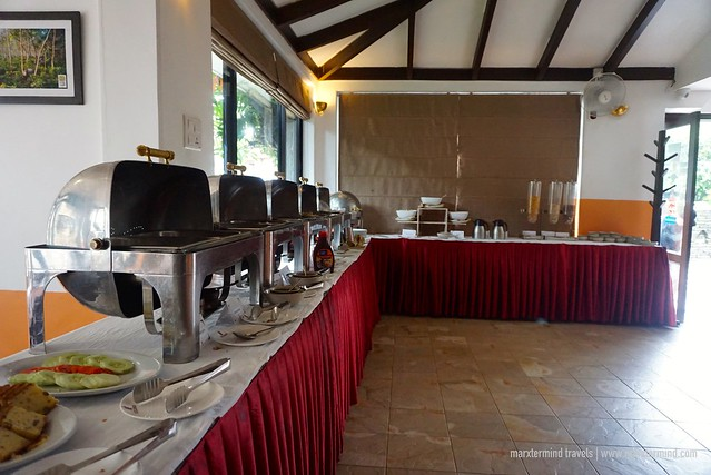 Breakfast Buffet at Hotel Barahi Pokhara