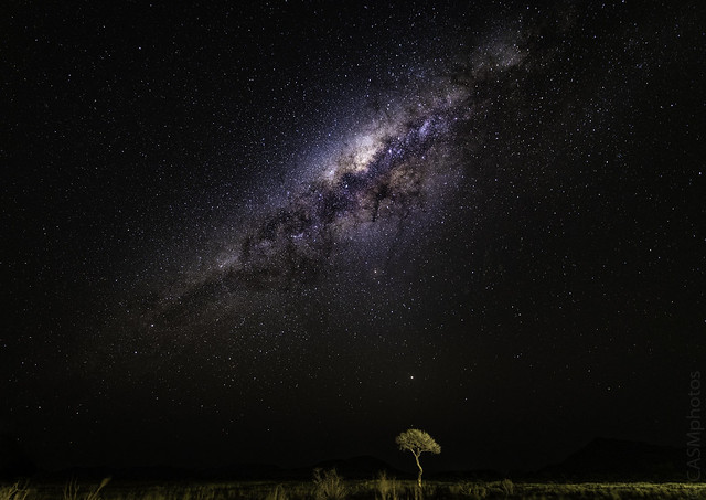 Milky Way above the Namib Naukluft Desert, Namibia.