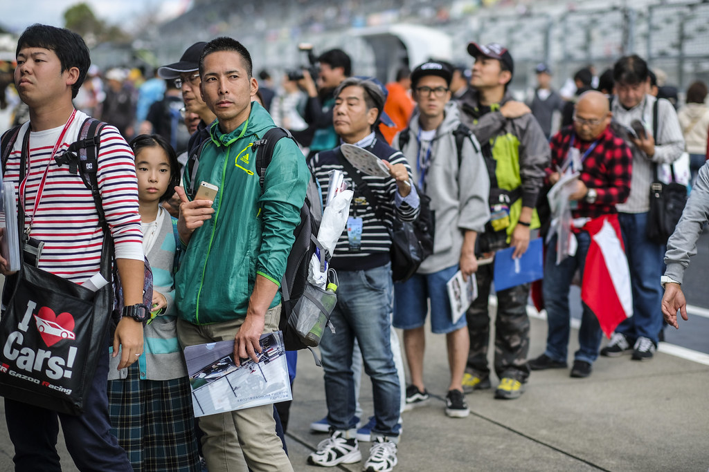 autograph session fan supporter during the 2018 FIA WTCR World Touring Car cup of Japan, at Suzuka from october 26 to 28 - Photo Francois Flamand / DPPI