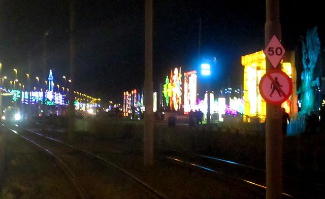 Blackpool Illuminations, Roadside