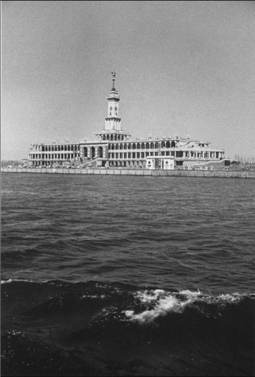 1937. Северный Речной вокзал.