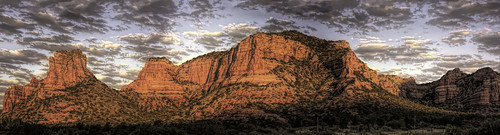 usa arizona sedona hdr panorama