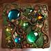 Woodland Tile Found Object Mosaic