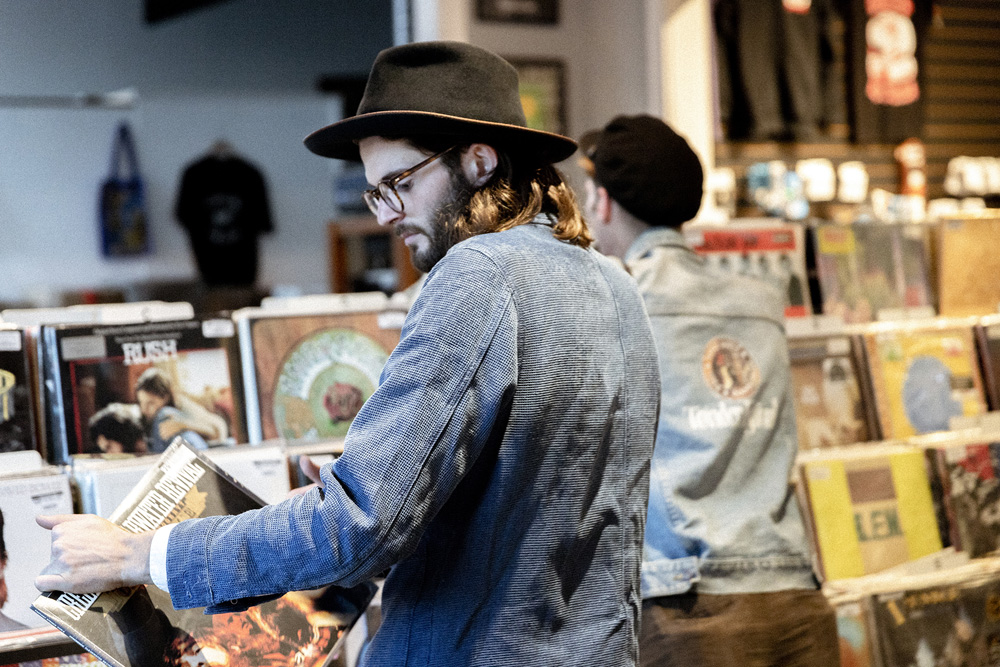 Record Shopping with Hudson Taylor