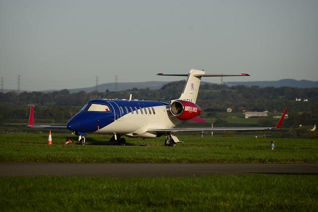 LX-EAA Learjet 45