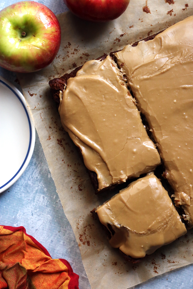 Old Fashioned Apple Cake With Brown Sugar Frosting Joanne Eats