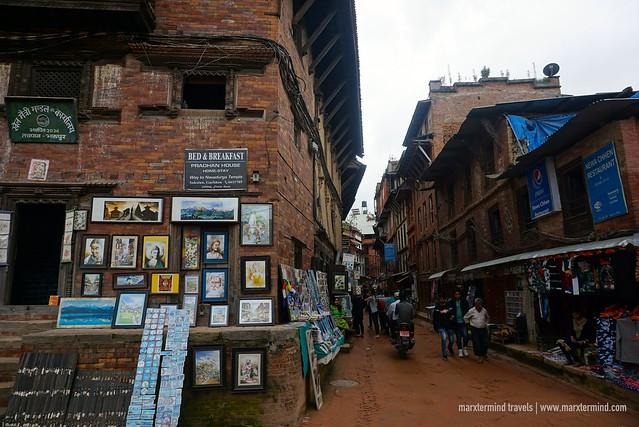 Wandering through the Alleyways in Bhaktapur