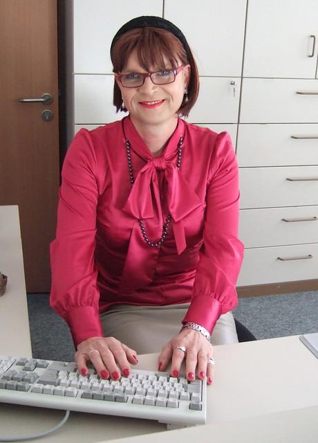 Secretary Marie-Christine