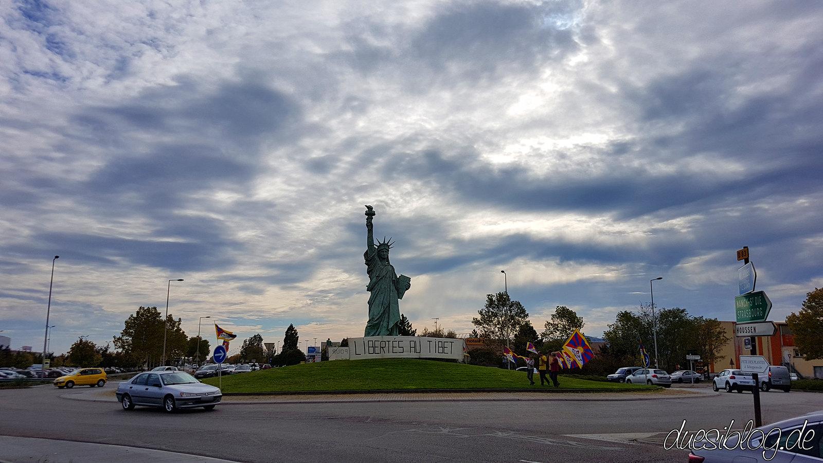 Colmar - La statue de la Liberte