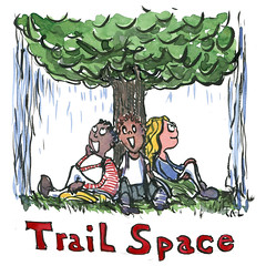 illustration-trail-space-in-rain-under-tree-hikers-by-frits-ahlefeldt