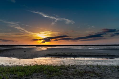 Sunset Husum Dockkoog
