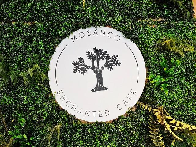 Enchanted Cafe Signage