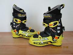 skialpinicticke boty Scarpa Spirit, velice pekne - titulní fotka