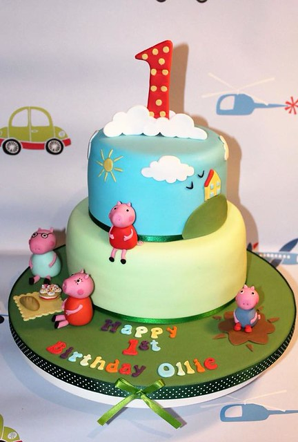 Cake by Purple Butterfly Cake Creations