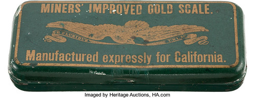 1850 Miners Improved Gold Scale closed