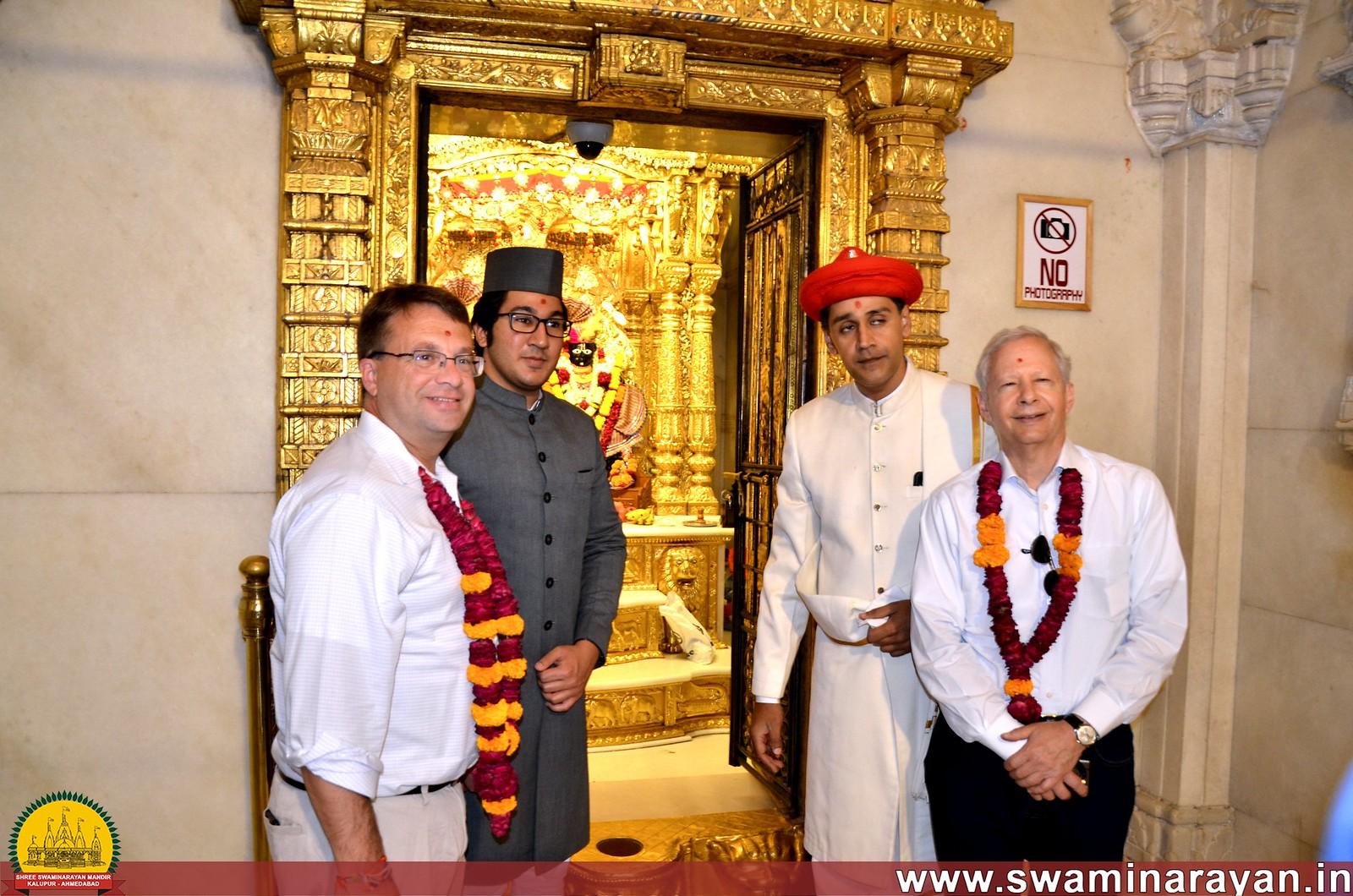 US Ambassador Visit to Kalupur