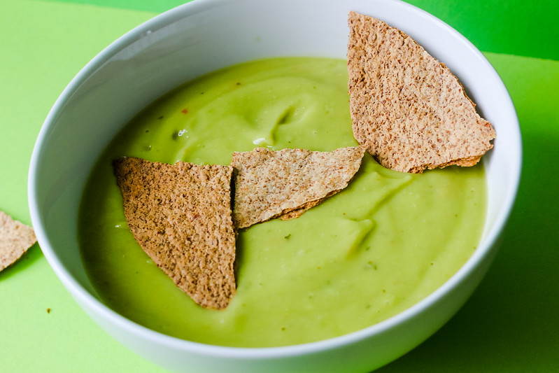 Chilled avocado and lime soup recipe
