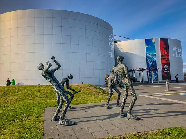 Sculptures at Perlan Museum - Reykjavík Iceland