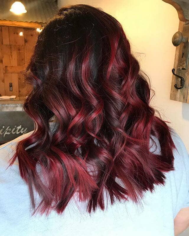 best burgundy hair dye to Rock this Fall 2019 16