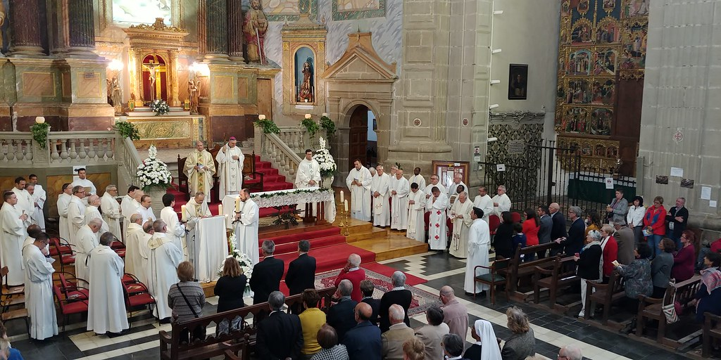 Ordenación Diaconal Vicente Iserte 07/10/2018