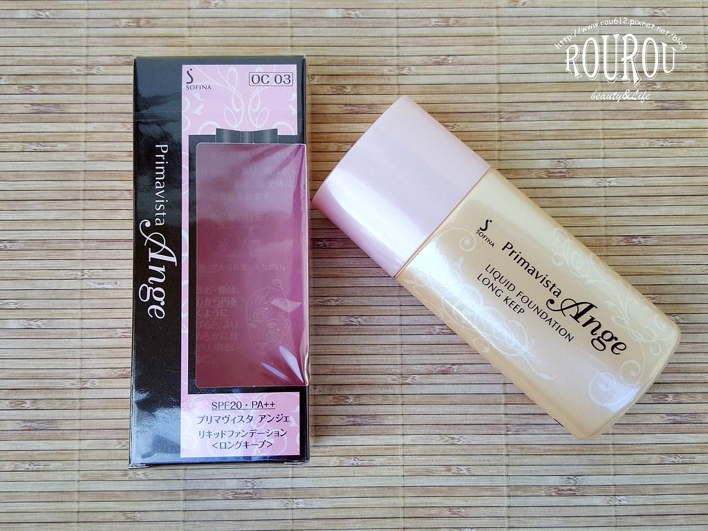 SOFINA輕妝綺肌長效粉底液(進化版)2