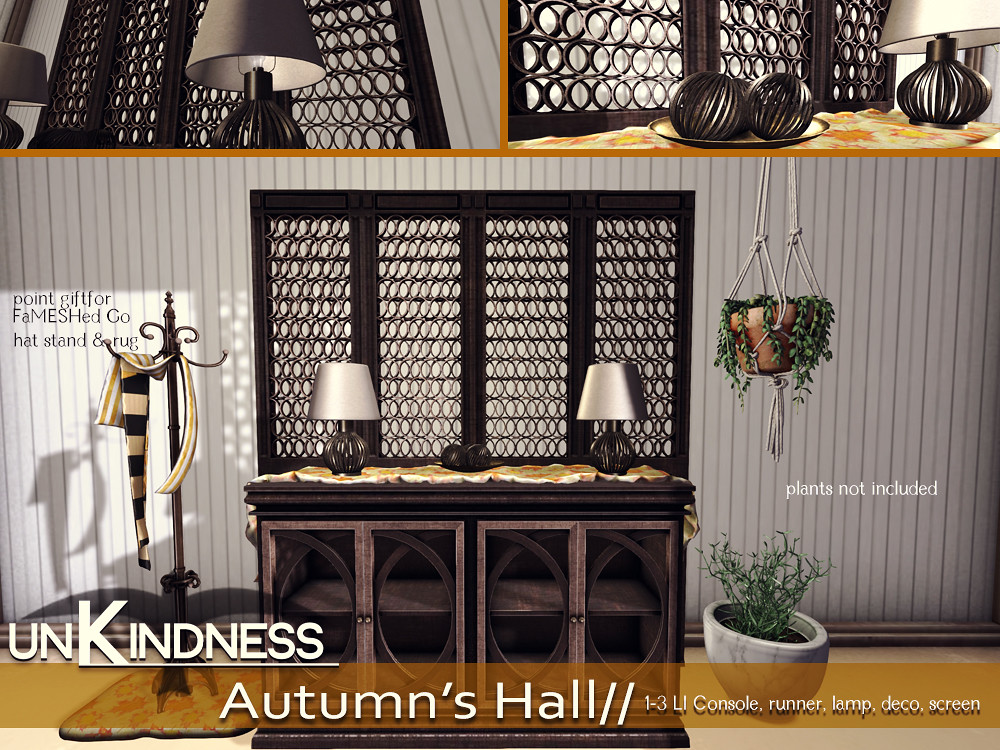 uK - Autumns Hall - Go FaMESHed - TeleportHub.com Live!