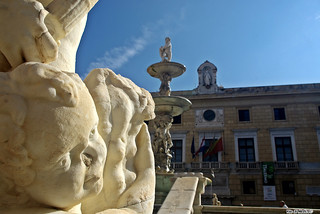 Particolari Fontana Piazza Pretoria Palermo