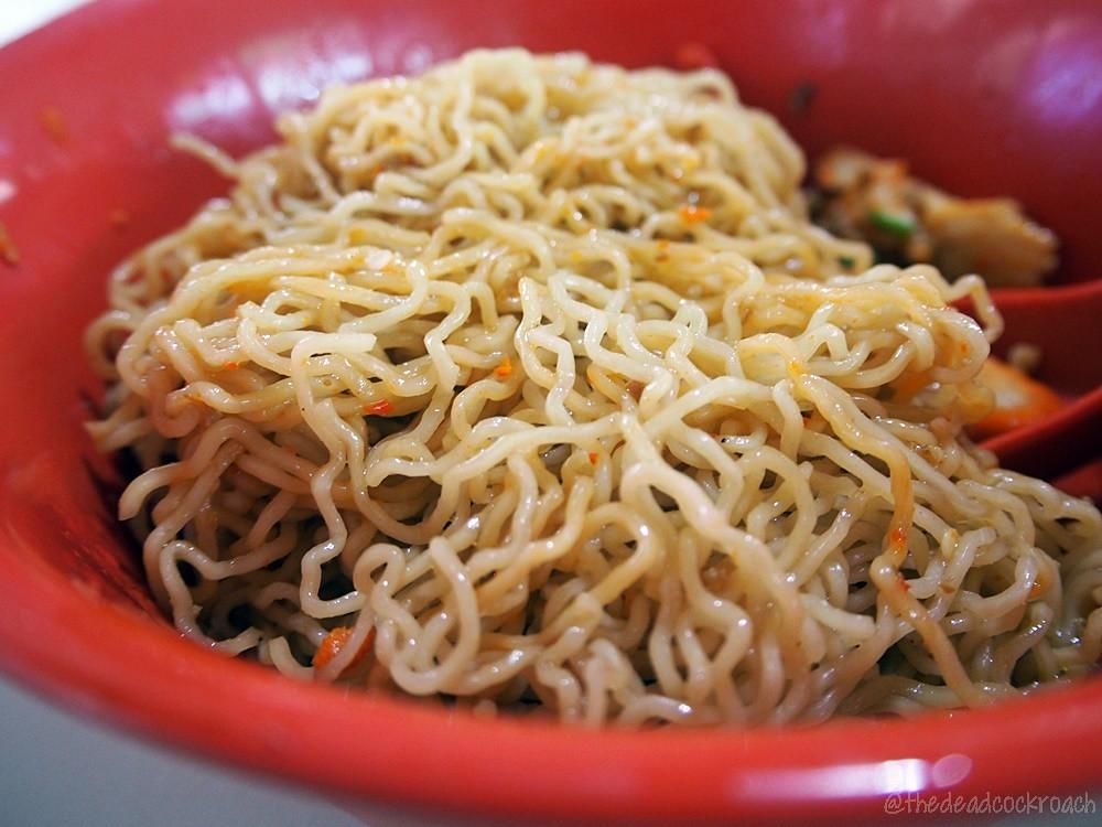 林玉梅,砂捞越,干捞面 ,food review,food,review,sarawak kolo mee,lin yu mei,kolo mee,haig road, haig road market & food centre, singapore,malaysia,sarawak