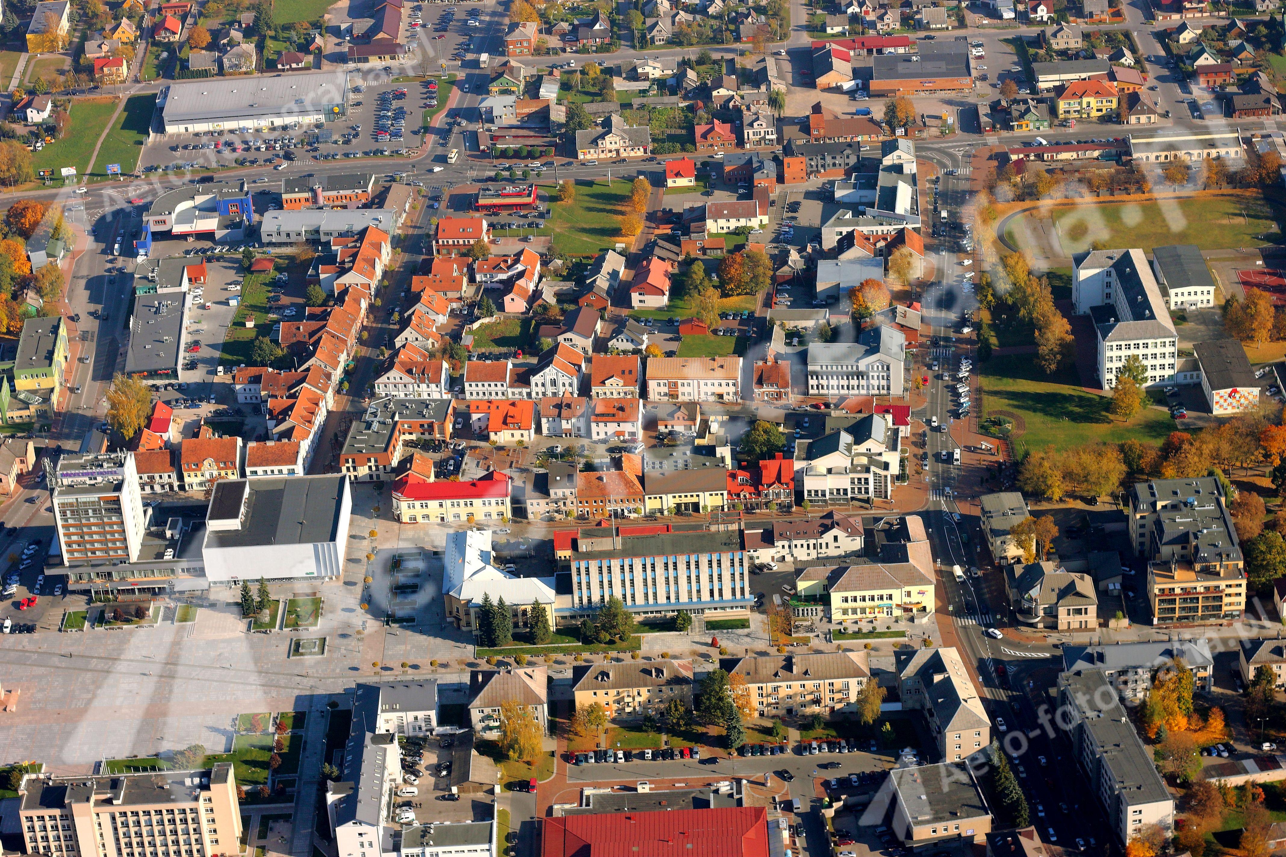 Mariampol - centrum miasta.