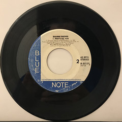 DIANNE REEVES:BETTER DAYS(REMIX)(RECORD SIDE-B)