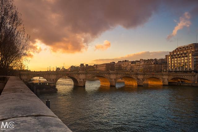 Paris and its beautiful bridges