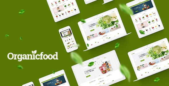 OrganicFood - Food, Alcohol, Cosmetics OpenCart Theme