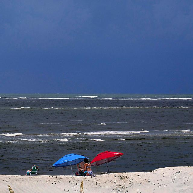 Atlantic Ocean, Tybee Island, Panasonic DMC-TZ101