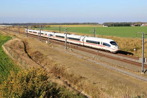 DB ICE 4682 Köln Voroux - Fexhe-le-Haut-clocher 21-10-2018