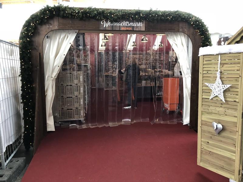 Christmas Tent Migros