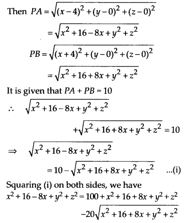 NCERT Solutions for Class 11 Maths Chapter 12 Introduction to Three Dimensional Geometry 6