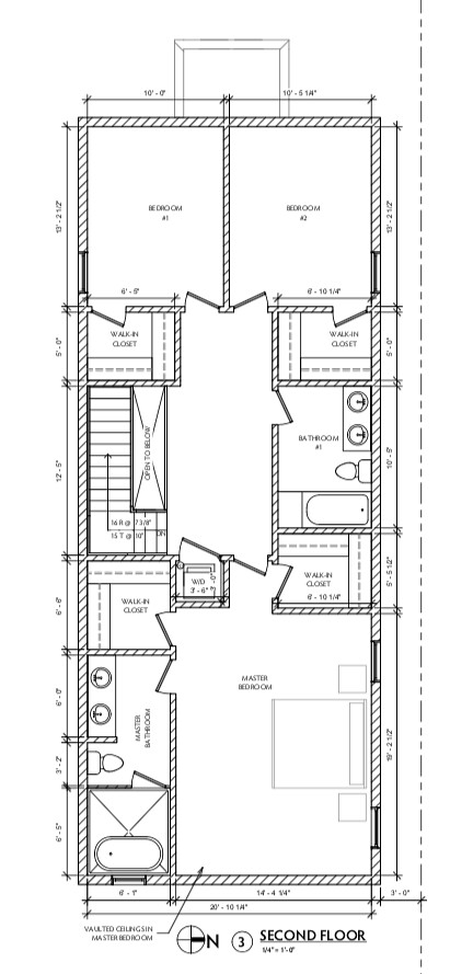 1050 N Taylor Ave Arch Drawings - Second Floor