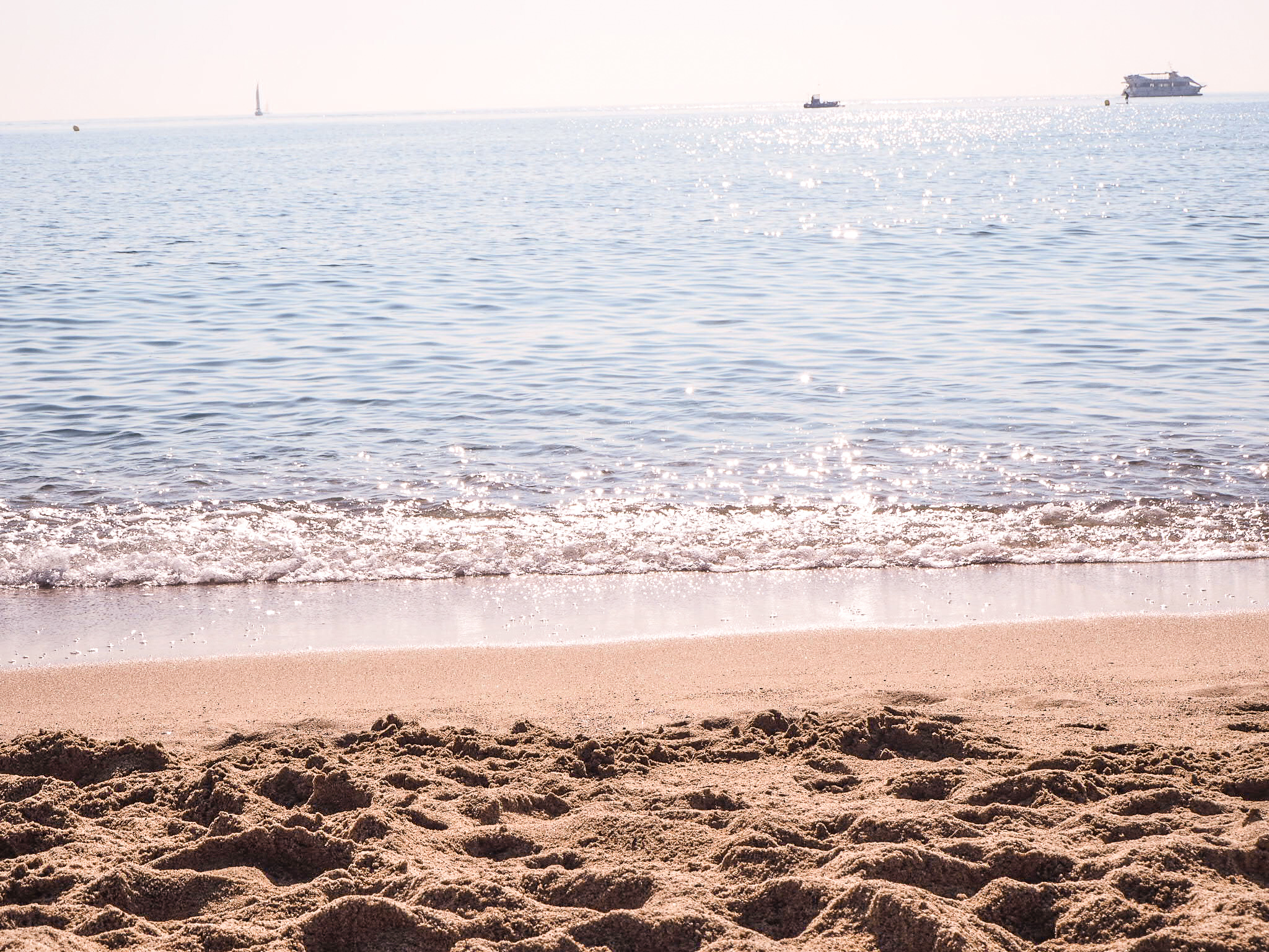 Barceloneta rannan vesi