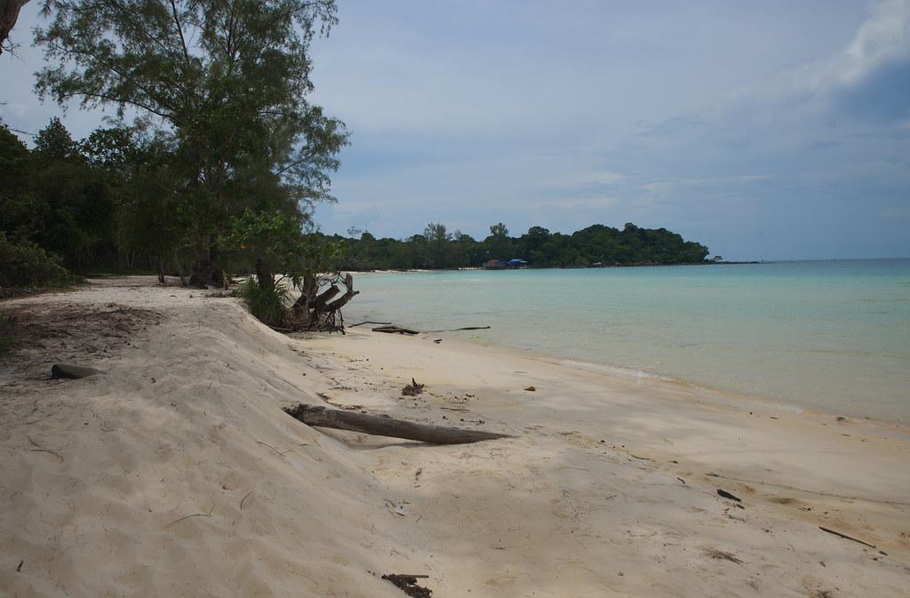 Playa paradisiaca en Koh Rong camboya