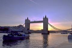 Sunrise over Tower Bridge, London. Nikon D3100. DSC_0066