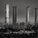 Cuatro torres, Madrid by T. Dosuna