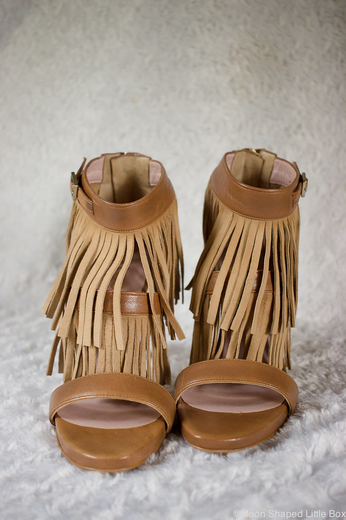 fringe heels, high heels, leather shoes, shoes from Spain