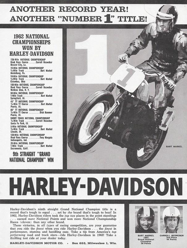 Harley-Davidson Bart Markel