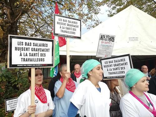 """Journée d'action à Bruxelles """"Tout augmente, sauf nos salaires !"""""""
