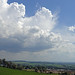 Clouds building over the Eden Valley