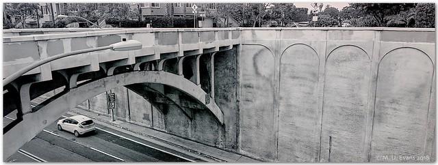 Georgia St Bridge & Car