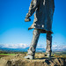 Statue of Sir David Stirling