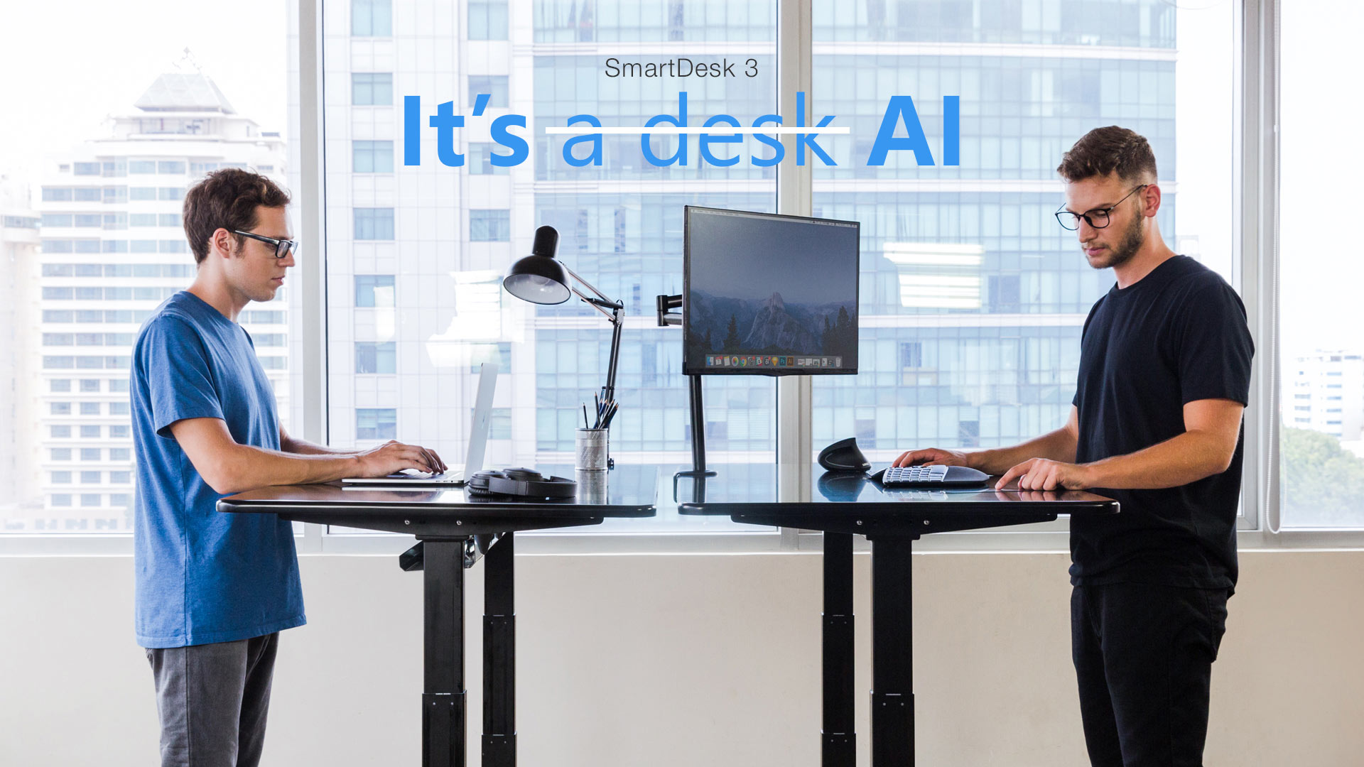 Treat yourself to a sit to stand desk