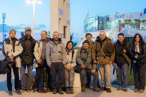 Photo de groupe (Sortie associative, Grau-du-Roi) 03 novembre 2018