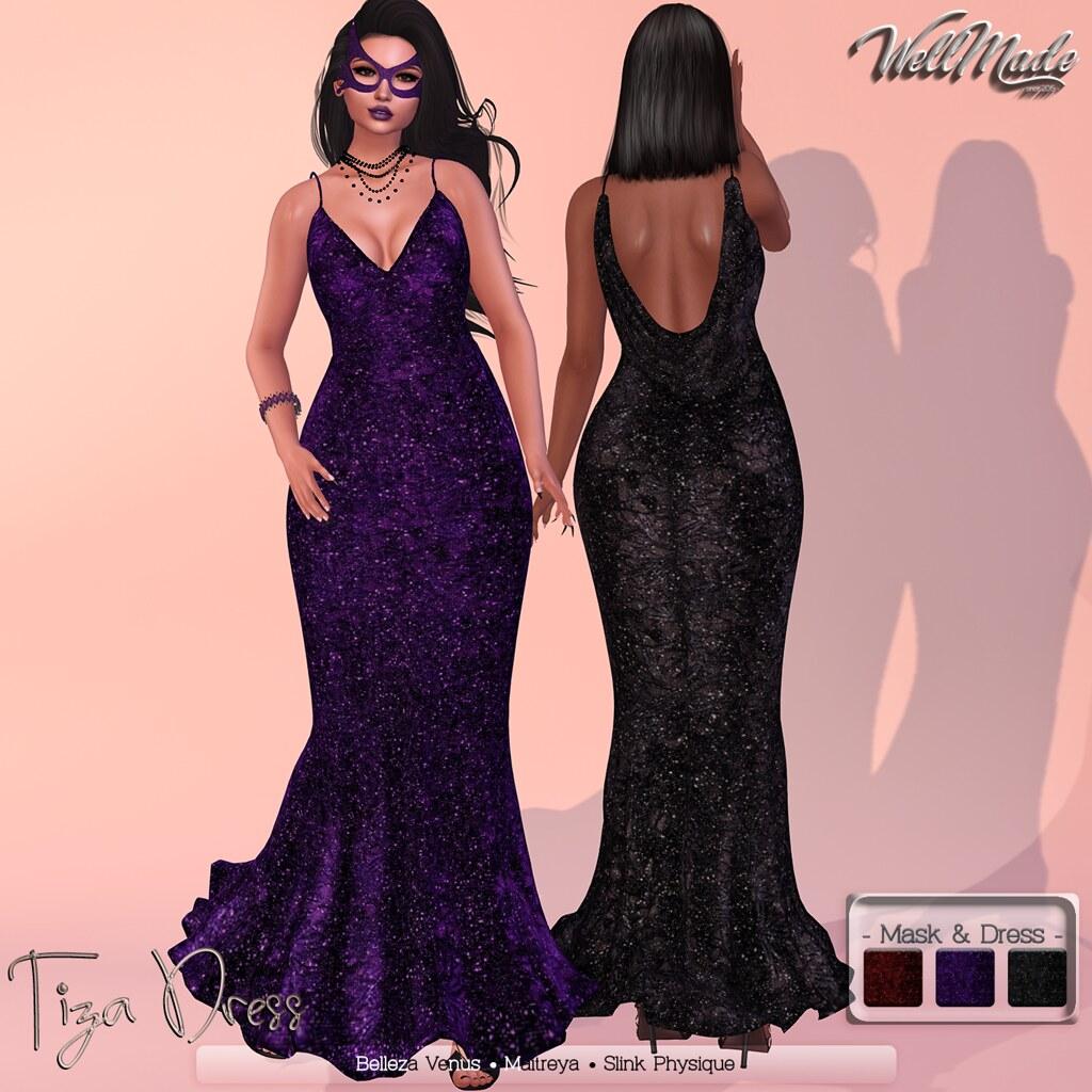 [WellMade] Tiza Dress - TeleportHub.com Live!